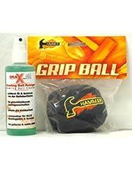 EMAX Bolos de pelota y limpiador de bola + Martillo Grip