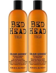 Tigi Bed Head Colour Goddess Duo Pack  für koloriertes Haar (Shampoo 750ml und Conditioner 750ml)