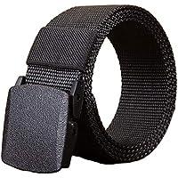 Desconocido JIER Liquidación Cinturón táctico Militar Hombres Hebilla metálica Espesar Cinturones de Lona de Nylon para Hombres