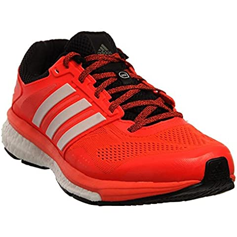 Adidas Supernova Glide 7 Boost para hombre zapatillas deportivas 8.5 Solar rojo-negro