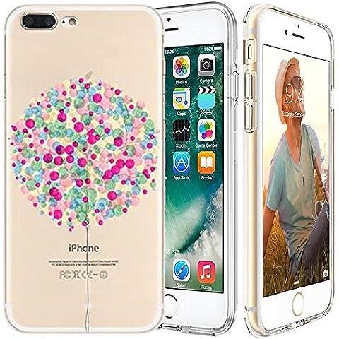 iPhone 7 plus Custodia,Apple iPhone 7 plus (5.5 inch) Custodia,Richoose iPhone 7 plus TPU [Slim Fit] Cancella TPU Gel Della Gomma Custodia Protettiva,Cassa del Respingente Crystal Clear Trasparente Custodia Protettiva per iPhone 7 plus 5.5 inch - Palloncino
