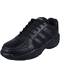 TWIN Roursch School Shoes for Children TSH - 36011 -Gola Sports Black Lacing-Light Weight Phylon Sole Unisex Shoes