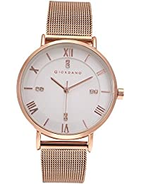 Giordano Analog White Dial Women's Watch