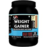 Musclemass Whey Protein Weight Gainer Supplement Powder - Chocolate, 1 Kg / 2.2 Lb (29 Servings)