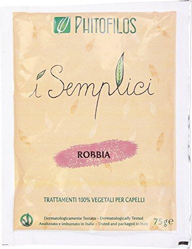 phitofilos robbia - polvere tintoria riflessi viola prugna porpora + trattamento yumi incluso