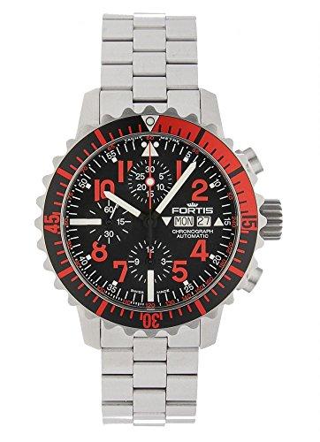 Fortis aquatis Marine Master automatico cronografo Rosso 671.23.43m