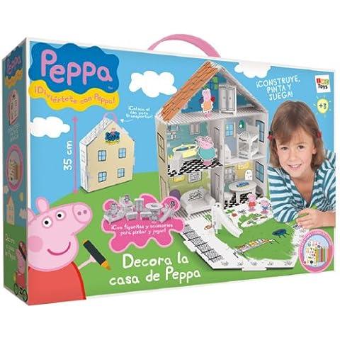 Peppa Pig - Casa para decorar con accesorios, multicolor (IMC 360129)
