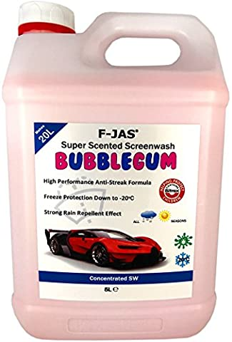 F-JAS Super Scented Screenwash (5L Concentrated,