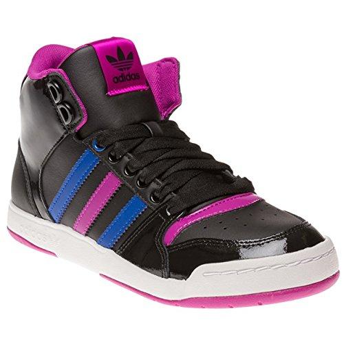 adidas Midiru Court Mid 2 W, Chaussures de Gymnastique Femme, Nero (Noir), 36 2/3 EU