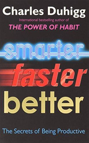 Smarter, Better, Faster