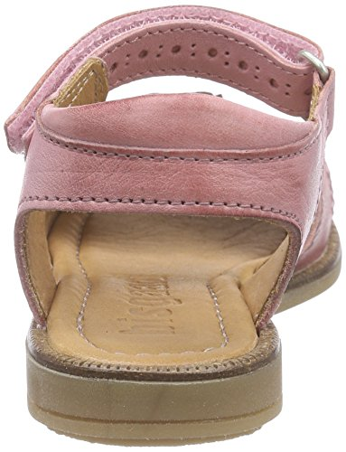 Bisgaard Sandals, Sandales Bride cheville fille Rose - Pink (144 Begonia)