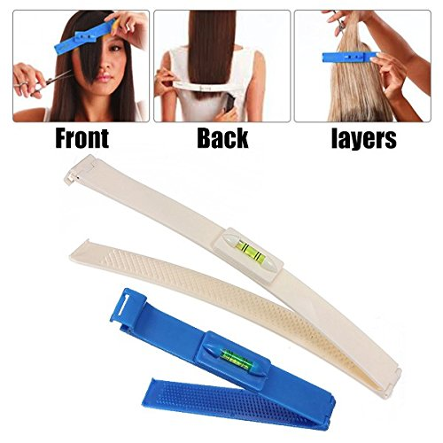 Bangs Cut LuckyFine Professional Hair Clipper Trimmer Bang Thinning Haircutting Tools Hairstyling Salon Tool Kit DIY