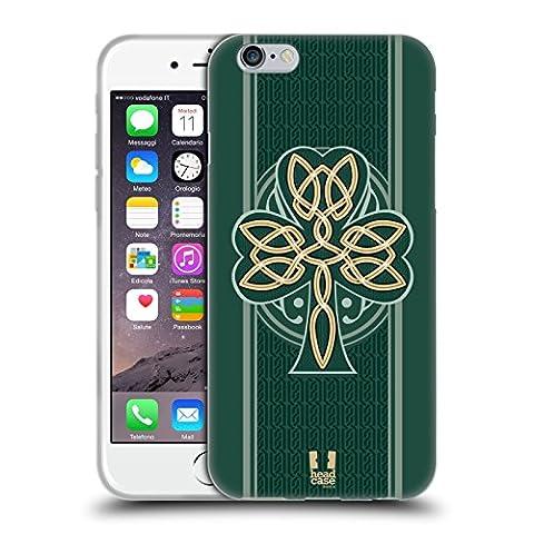 Head Case Designs Dara Knot Celtic Shamrock Soft Gel Case for Apple iPhone 6 / 6s