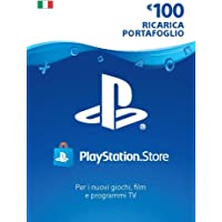 PlayStation Network PSN Card 100€ | Codice download per PSN - Account italiano - 100 EUR Edition |