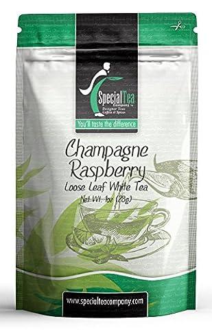 Special Tea Company Champagne Raspberry Loose White Tea Sample Pack