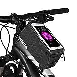 Roswheel Essentials Serie 121460Bike Top Tube Pannier Fahrrad Rahmen Telefon, schwarz