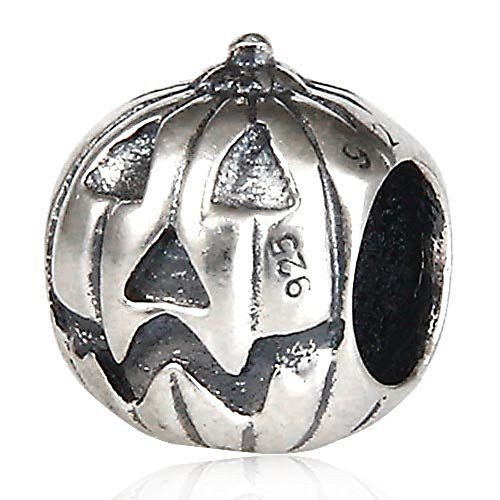 ANDANTE-Stones 925 Sterling Silber Bead Charm Kürbis Element -