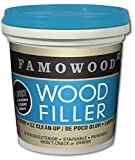Famowood 40042118 latex Wood filler – 1/4 pinta, abete/acero