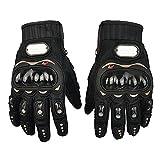 BRAUTO MotorradHandschuhe, Sommer Motorrad Handschuhe, Schwarz, Größe XL