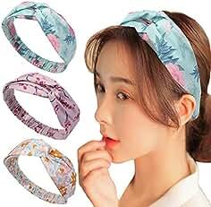 Vellette Bandeau Cheveux Nœud d oreille de Chat Turban Noué Bande Elastique  Cheveux Accessoire Cheveux f0f2c9e27eb