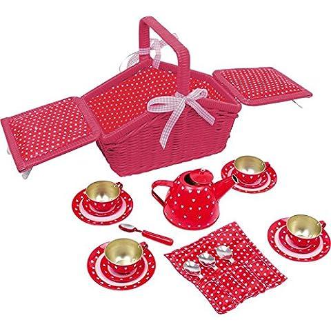 Red Picnic Basket (Sarah) Set