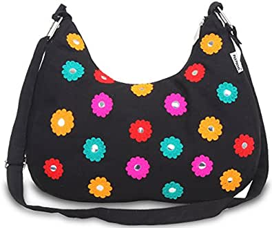 Pick Pocket Girls Sling Bag (Black) (slblkmulti260)