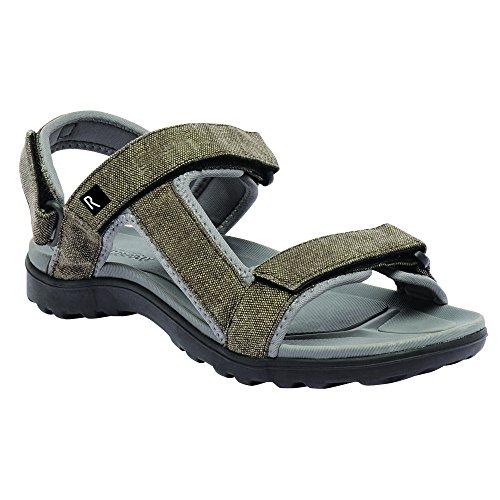 Regatta Mens Life Southward Walking Sandals RMF405 Yellow Sand