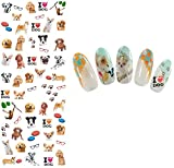 Nail Art Wasser Transfer Sticker Nail Sticker Tattoo Hund - DS303 Nail Sticker Tattoo - FashionLife