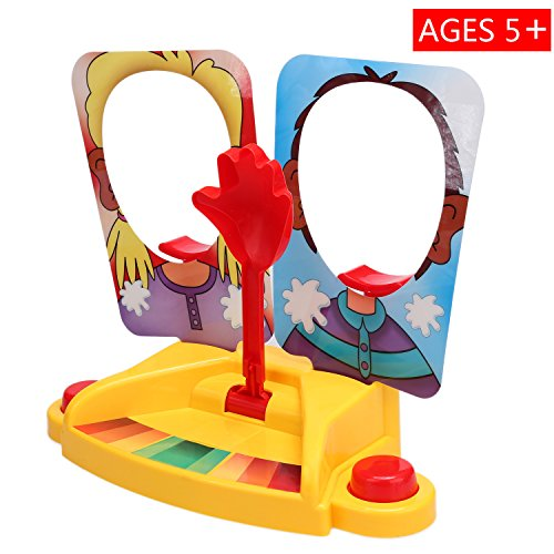 Preisvergleich Produktbild Spiel Pie Face ! Kinder Dual Pie Torte Gesicht Showdown Spiel Herausforderung Brettspiel 2 Spieler Alter 5+