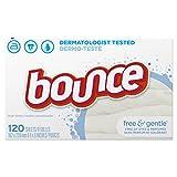 Bounce free and Gentle 120fogli asciugatrice