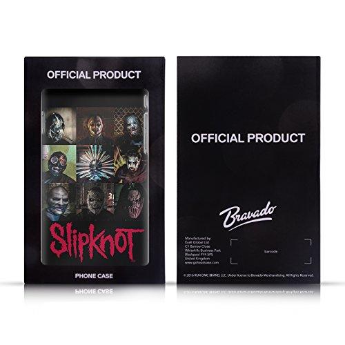 Offizielle Slipknot Logo Kunst Soft Gel Hülle für Apple iPhone 6 Plus / 6s Plus Wappen