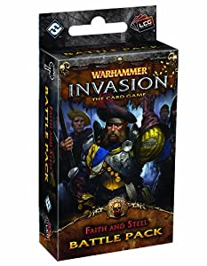 Warhammer Invasion: Faith and Steel - Juego de cartas Warhammer, para 2 jugadores (Fantasy Flight FFGWHC40) (importado)