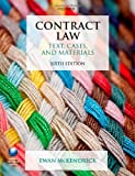 Contract Law Text, Cases, and Materials 6/e