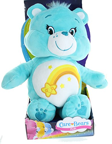 Image of Care Bears Boxed Toy - 12 Inch Wish Bear Super Soft Plush