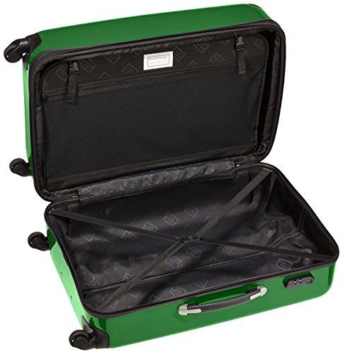 HAUPTSTADTKOFFER - Alex - Hartschalen-Koffer Koffer Trolley Rollkoffer Reisekoffer Erweiterbar, 4 Rollen, 75 cm, 119 Liter, Grün - 6
