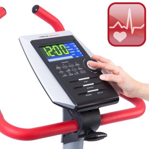 Ultrasport Heimtrainer Racer 600 mit Handpuls-Sensoren - 3