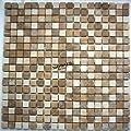 Marmor Mosaik Fliesen 15x15x8mm Toscana