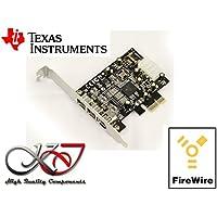 Kalea Informatique - Tarjeta controladora PCIe FireWire 800 y 400 (IEEE1394A y IEEE1394B sobre puerto PCI EXPRESS 1x)
