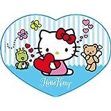 Puzzle 250 Teile Hello Kitty: Liebe (Herzpuzzle) 29631 von Clementoni