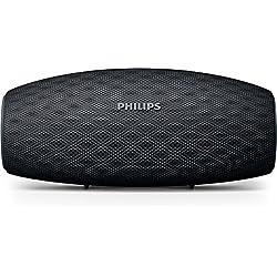 Philips Everplay BT6900B Enceinte Bluetooth Waterproof, Antichoc, avec Dragonne USB, 10h Autonomie, Noir