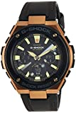Casio Men's G Shock GSTS120L-1A Black Leather Quartz Dress Watch