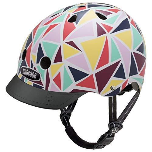 Nutcase Street-Kaleidoscope Helm, Mehrfarbig, Taille : S