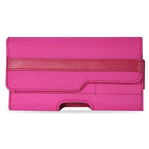 Reiko Schutzhülle für iPhone 6/6S Plus, horizontal, robust, in Einzelhandelsverpackung, hot pink - Hot Pink Horizontal Pouch