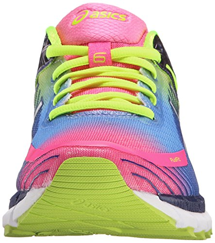 Asics Womens Gel-Kinsei 6 Running Shoe Hot Pink/White/Flash Yellow