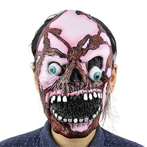 Macxy - Maskerade Masken Halloween gruselig Kinderspiel Latex -