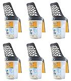 6 x Swirl Streuschaufel für Körnung 4-6 mm Katzenstreu - Grob - Schaufel - Streuschaufel