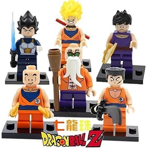 Building Blocks Dragon Ball Z MiniFigures Goku Vegeta Yamcha Figure Bricks Toys For Children Compatible With Lego (WITHOUT original boxes) by Nuchanart