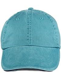 Anvil: Sandwich Trim Pigment-Dyed Twill Cap 166