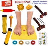 #2: Acupressure Mat with Magnets Pyramids for Pain Relief n Total Health Size 12x12.5 Inches (As Seen On TV) With FREE Acupressure Health Care Products