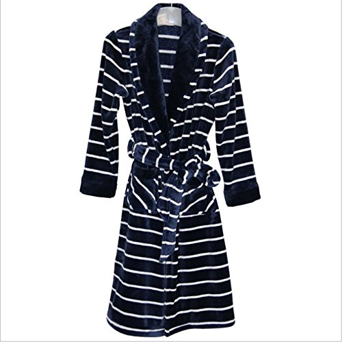 DMMSS Women 's camicia da notte lunga Flannel Pajamas autunno e inverno accappatoi corallo velluto da notte degli indumenti da notte , 1 , xl